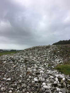 This a cairn, which is another name for a type of burial mound that's covered in stones